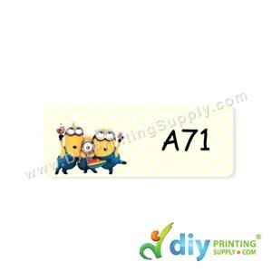 Name Sticker (Small) (1,800Pcs) (5M) [Minions]