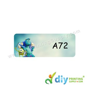 Name Sticker (Small) (1,800Pcs) (5m) [Monsters University]