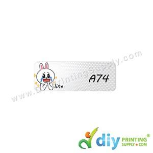 Name Sticker (Small) (1,800Pcs) (5m) [Line]