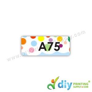 Name Sticker (Small) (1,800Pcs) (5M) [Polka Dots]