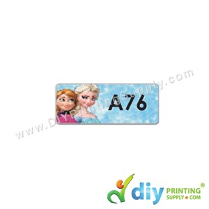 Name Sticker (Small) (1,800Pcs) (5M) [Frozen]