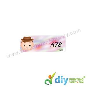 Name Sticker (Small) (1,800Pcs) (5M) [Tsum]