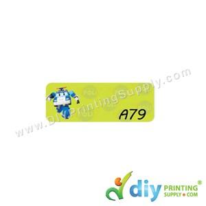 Name Sticker (Small) (1,800Pcs) (5M) [Robocar Poli]