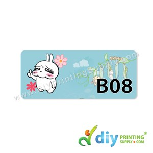 Name Sticker (Medium) (1,000Pcs) (5M) [Mashimaro]