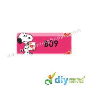 Name Sticker (Medium) (1,000Pcs) (5M) [Snoopy]