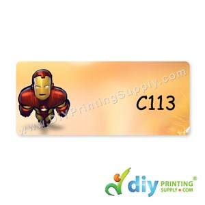 Name Sticker (Medium) (1,000Pcs) (5m) [Iron Man]