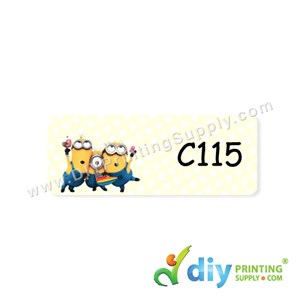 Name Sticker (Medium) (1,000Pcs) (5M) [Minions]