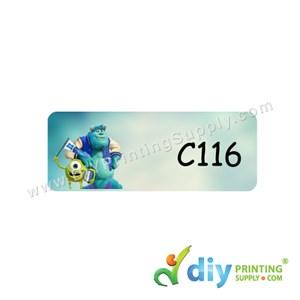 Name Sticker (Medium) (1,000Pcs) (5M) [Monsters University]