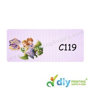 Name Sticker (Medium) (1,000Pcs) (5M) [Sofia the First]