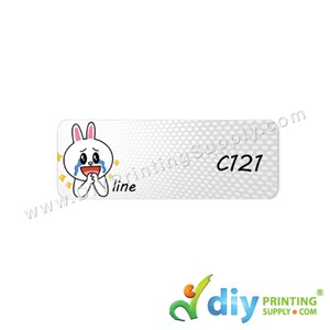 Name Sticker (Medium) (1,000Pcs) (5M) [Line]