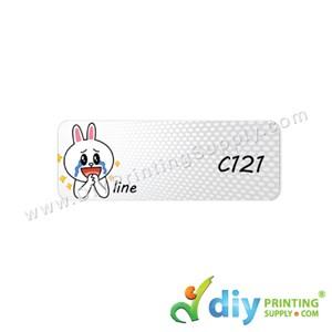 Name Sticker (Medium) (1,000Pcs) (5m) [Line]