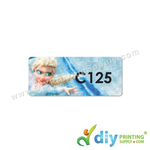 Name Sticker (Medium) (1,000Pcs) (5m) [Frozen]