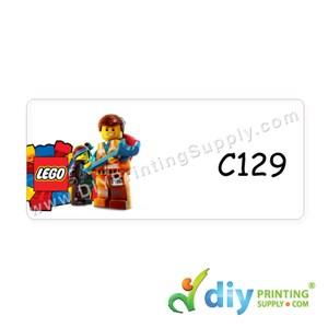 Name Sticker (Medium) (1,000Pcs) (5M) [Lego]