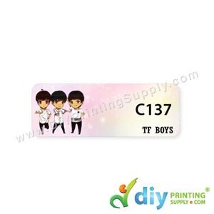 Name Sticker (Medium) (1,000Pcs) (5M) [TF Boy]