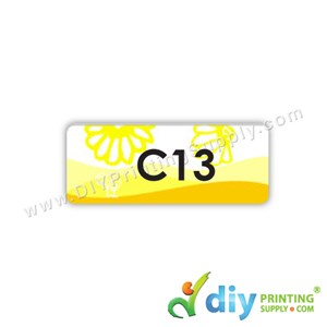 Name Sticker (Medium) (1,000Pcs) (5m) [Scenery]