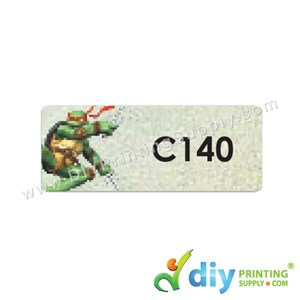 Name Sticker (Medium) (1,000Pcs) (5m) [Ninja Turtle]
