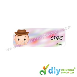Name Sticker (Medium) (1,000Pcs) (5M) [Tsum]