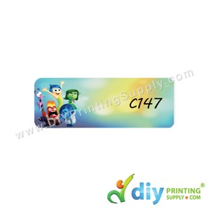 Name Sticker (Medium) (1,000Pcs) (5M) [Inside Out]