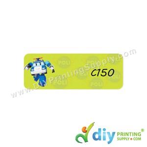 Name Sticker (Medium) (1,000Pcs) (5M) [Robocar Poli]