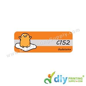 Name Sticker (Medium) (1,000Pcs) (5m) [Gudetama]
