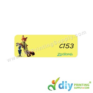 Name Sticker (Medium) (1,000Pcs) (5M) [Zootopie]