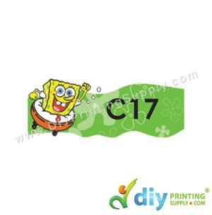 Name Sticker (Medium) (1,000Pcs) (5M) [Spongebob]