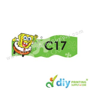 Name Sticker (Medium) (1,000Pcs) (5M) [Spongebob]