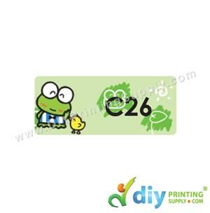 Name Sticker (Medium) (1,000Pcs) ) (5m) [Keroppi]