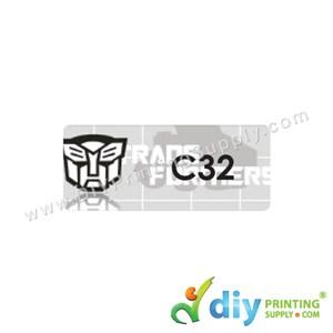 Name Sticker (Medium) (1,000Pcs) (5M) [Transformer]