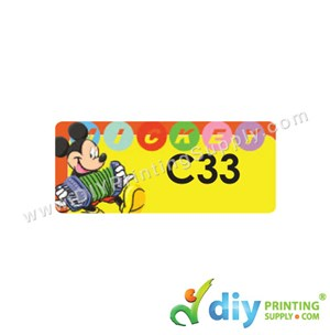 Name Sticker (Medium) (1,000Pcs) (5M) [Mickey]