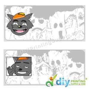 Name Sticker (Medium) (1,000Pcs) (5m) [Big Big Wolf]