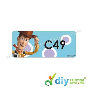 Name Sticker (Medium) (1,000Pcs) (5M) [Toy Story]
