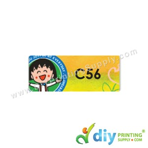 Name Sticker (Medium) (1,000Pcs) (5m) [Maruko Chan]
