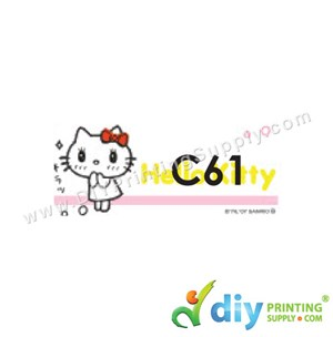 Name Sticker (Medium) (1,000Pcs) (5M) [Hello Kitty]