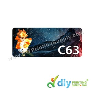 Name Sticker (Medium) (1,000Pcs) (5m) [Hitman Reborn]