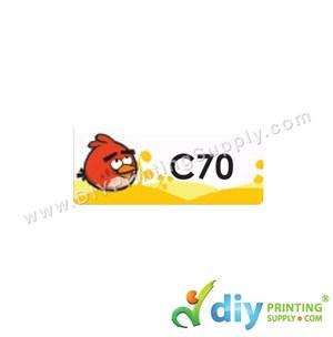 Name Sticker (Medium) (1,000Pcs) (5M) [Angry Birds]