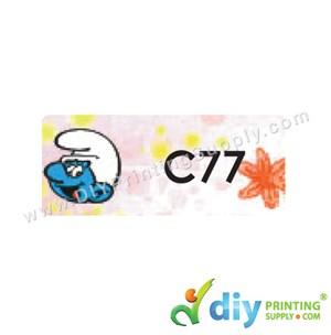Name Sticker (Medium) (1,000Pcs) (5M) [The Smurf]