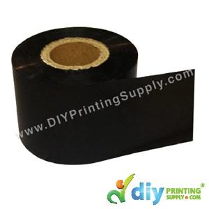Thermal Transfer Ribbon (Cloth) (300M X 4cm) (Black)