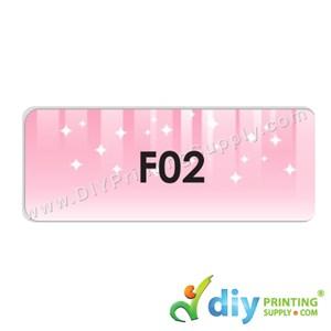 Name Sticker (Large) (500Pcs) (5m) [Scenery]
