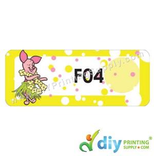 Name Sticker (Large) (500Pcs) (5M) [Winnie the Pooh]