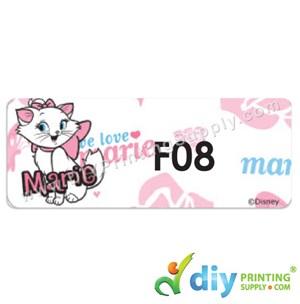 Name Sticker (Large) (500Pcs) (5M) [Marie Cat]