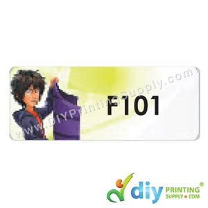 Name Sticker (Large) (500Pcs) (5M) [Big Hero 6]