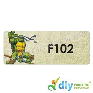 Name Sticker (Large) (500Pcs) (5m) [Ninja Turtle]