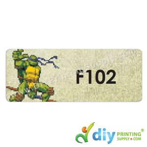 Name Sticker (Large) (500Pcs) (5m) [Ninja Turtle]