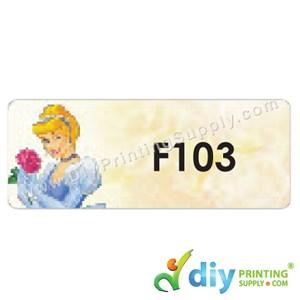 Name Sticker (Large) (500Pcs) (5M) [Cinderela]