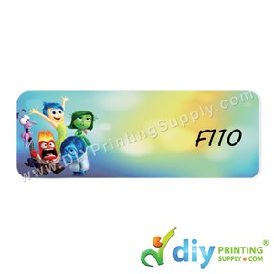 Name Sticker (Large) (500Pcs) (5m) [Inside Out]