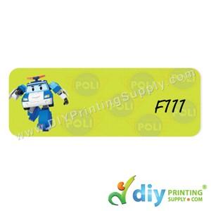 Name Sticker (Large) (500Pcs) (5M) [Robocar Poli]
