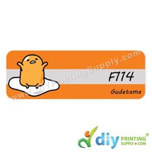 Name Sticker (Large) (500Pcs) (5m) [Gudetama]