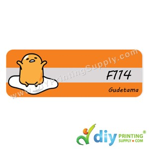 Name Sticker (Large) (500Pcs) (5M) [Gudetama]