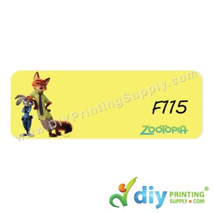 Name Sticker (Large) (500Pcs) (5M) [Zootopie]